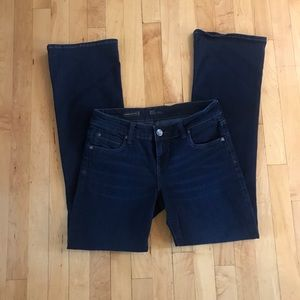 KUT High Rise Natalie Bootcut Jeans